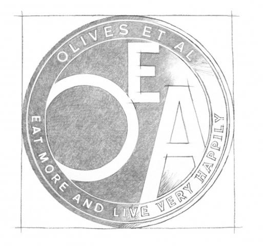 Olives et al brand design
