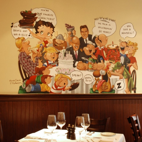 Commercial commissioned mural