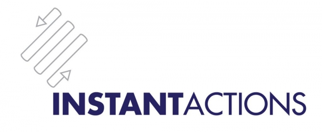 Instant Actions brand design